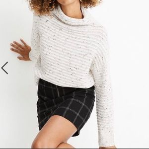 NWT Madewell Donegal Belmont Mockneck Sweater Knit